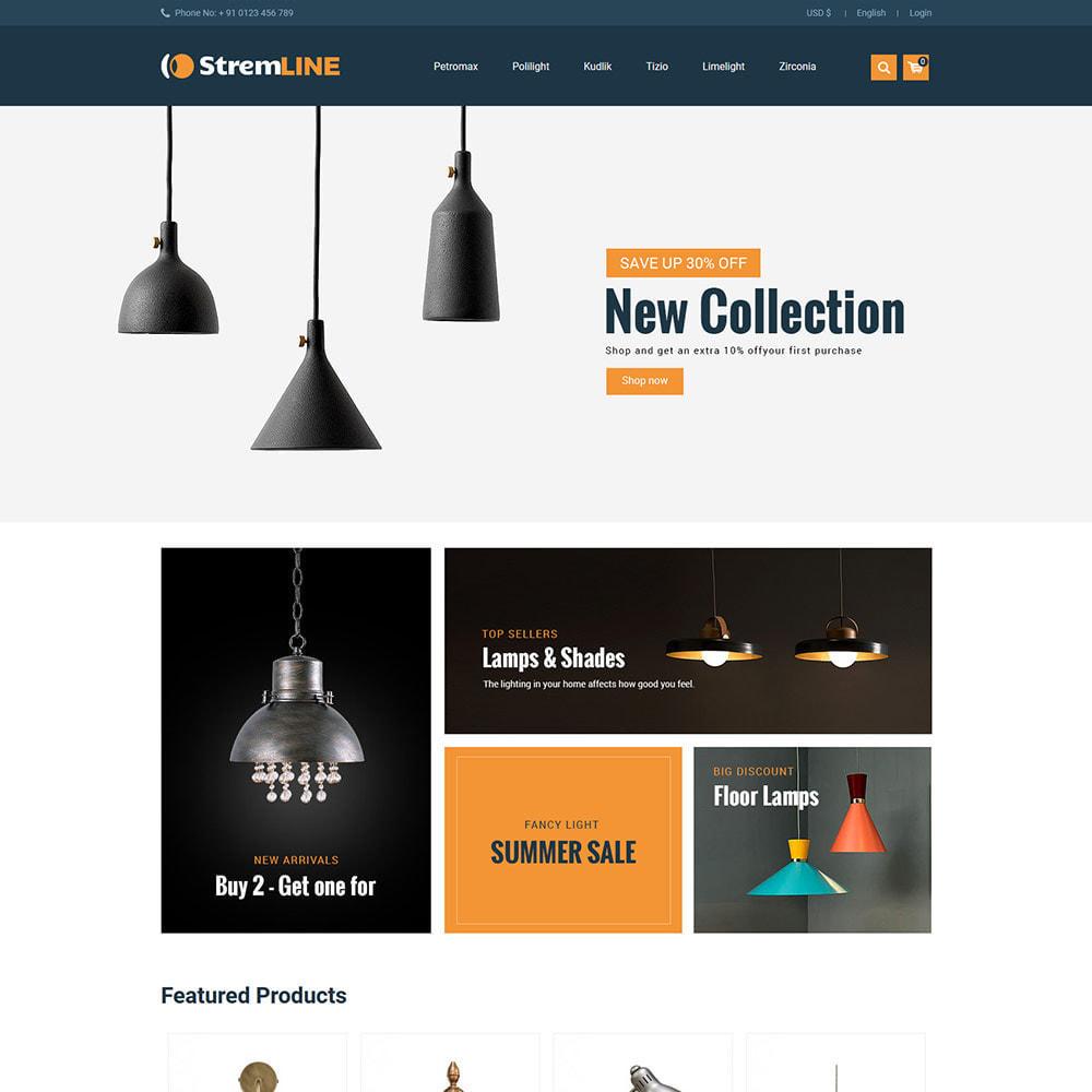 theme - Casa & Giardino - Light LED - Negozio di lampadine per accessori - 3