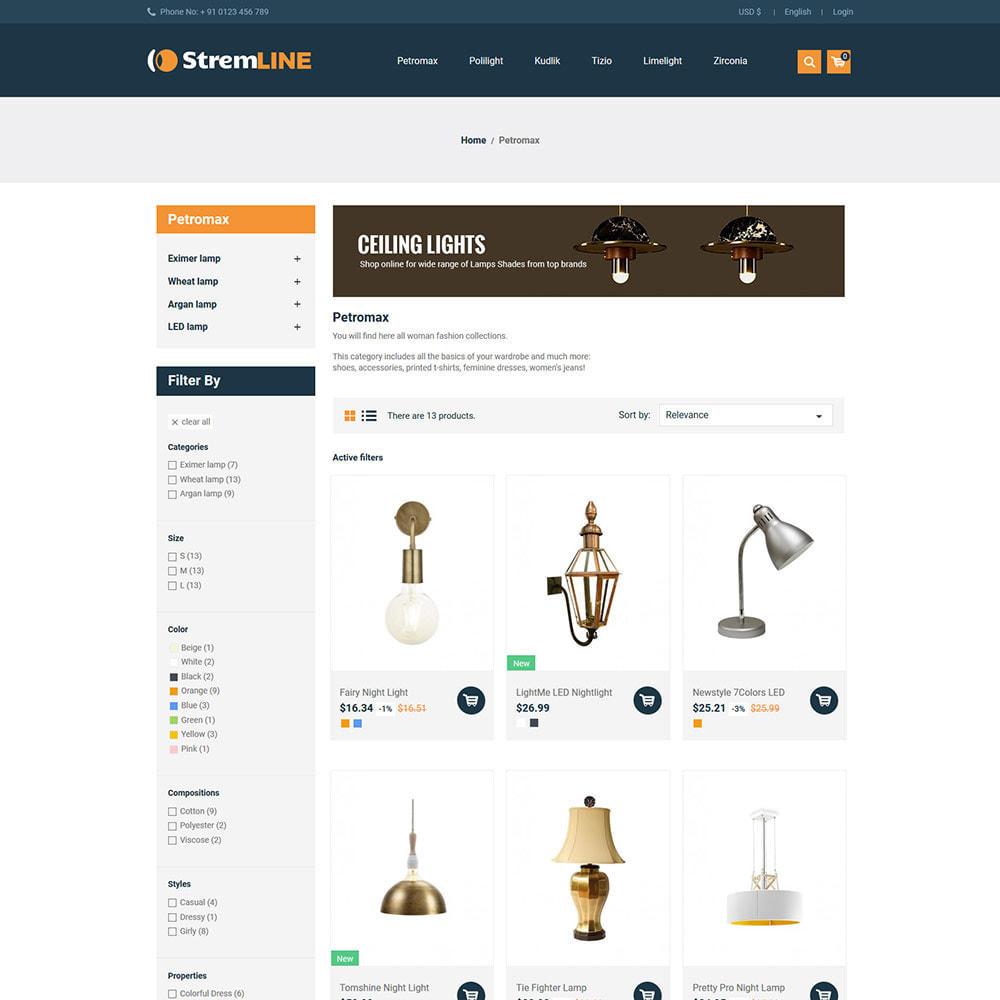 theme - Casa & Giardino - Light LED - Negozio di lampadine per accessori - 5
