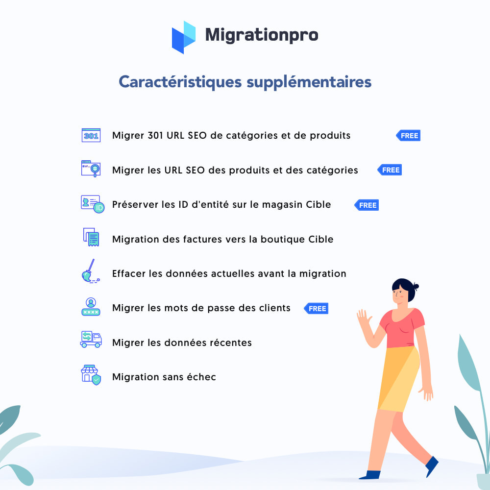 module - Migration de Données & Sauvegarde - Outil de migration Magento vers  PrestaShop - 5