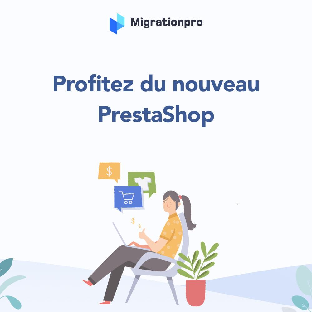module - Migration de Données & Sauvegarde - Outil de migration Magento vers  PrestaShop - 9