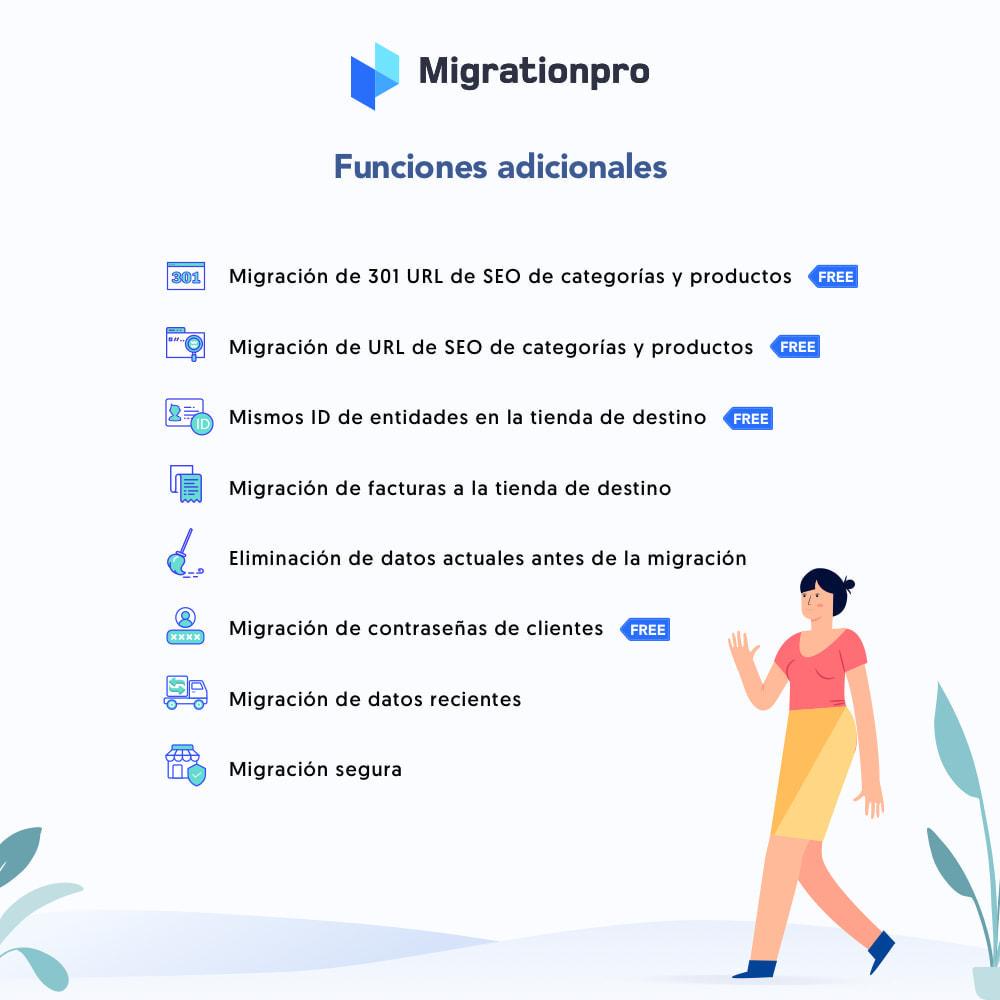 module - Migración y Copias de seguridad - Herramienta de migración de VirtueMart a PrestaShop - 5