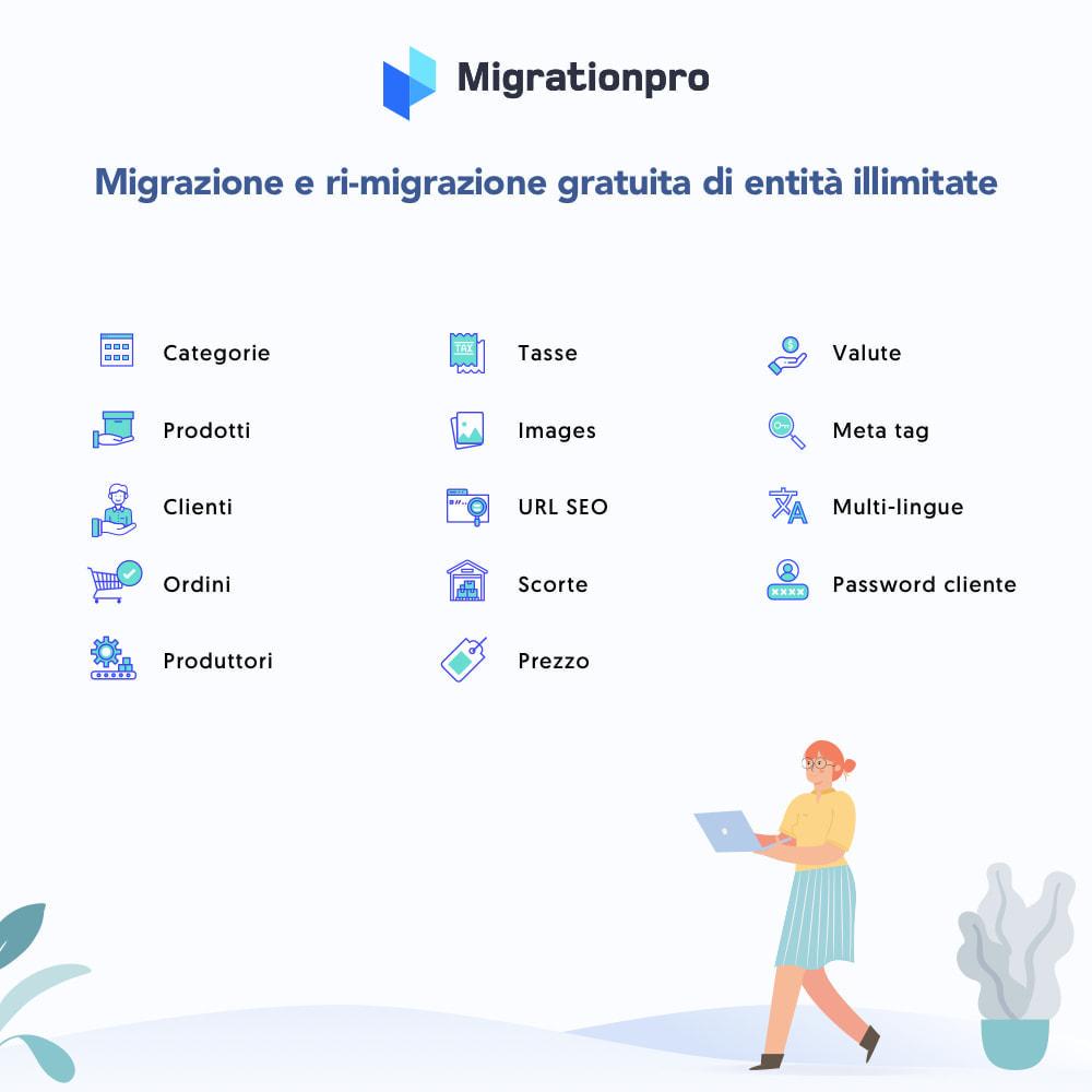 module - Data Migration & Backup - Strumento di migrazione da VirtueMart a PrestaShop - 2