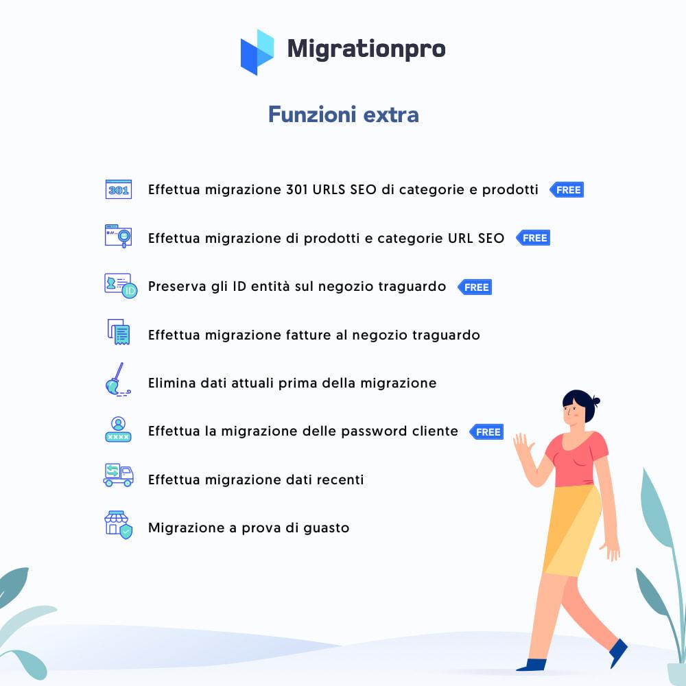 module - Data Migration & Backup - Strumento di migrazione da VirtueMart a PrestaShop - 5
