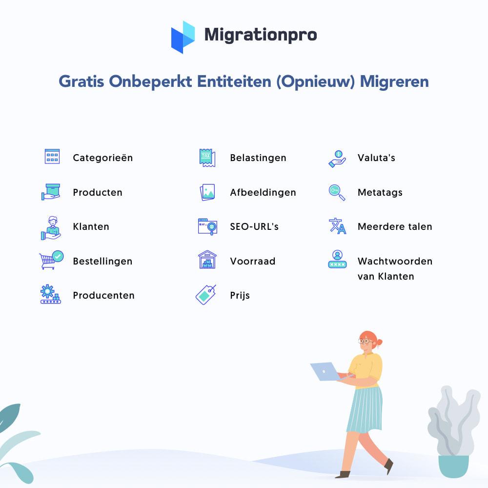 module - Migratie & Backup - Magento naar PrestaShop migratie tool - 2