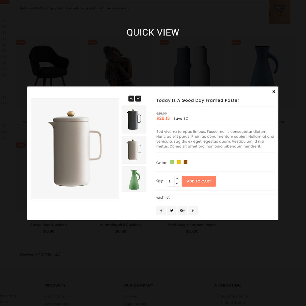 theme - Дом и сад - Uniquedesk - Modern Furniture Store - 7