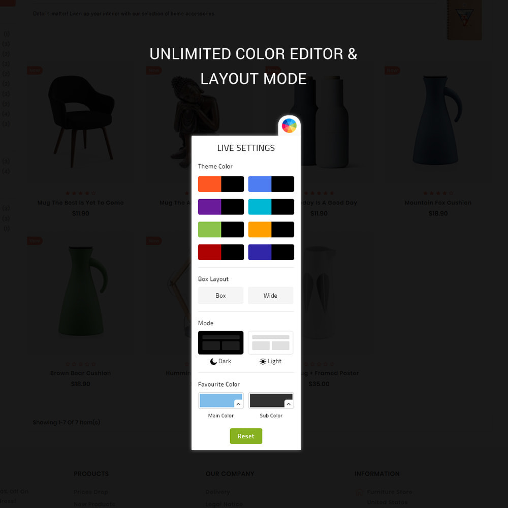 theme - Дом и сад - Uniquedesk - Modern Furniture Store - 8