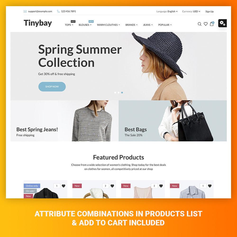 theme - Moda & Obuwie - Tinybay Fashion Store - 1