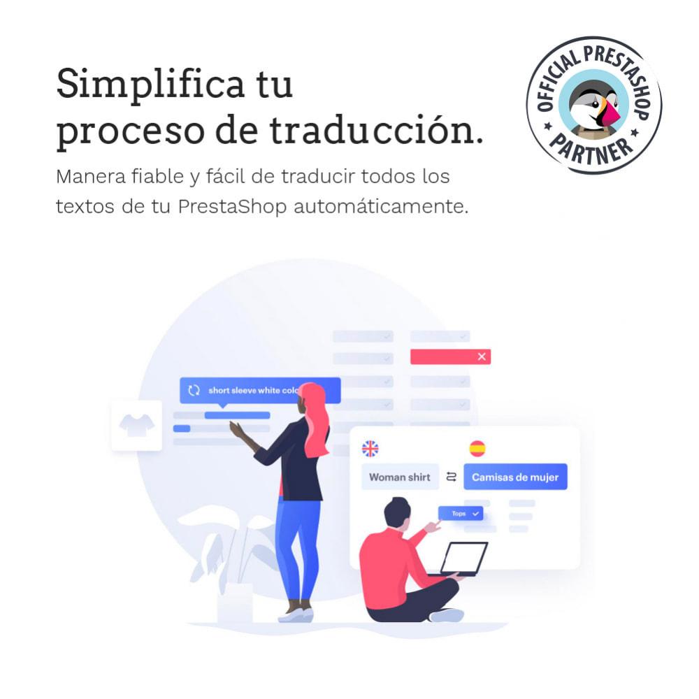 module - Internacionalización y Localización - Glotio - Traduce tu PrestaShop a más de 50 idiomas - 3