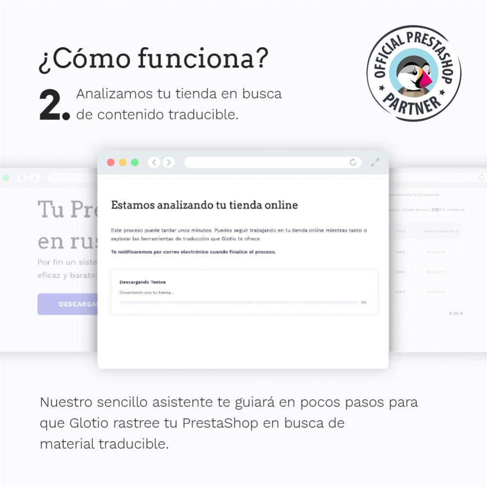 module - Internacionalización y Localización - Glotio - Traduce tu PrestaShop a más de 50 idiomas - 5