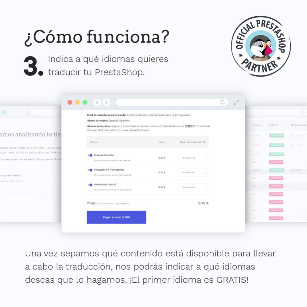 module - Internacionalización y Localización - Glotio - Traduce tu PrestaShop a más de 50 idiomas - 6