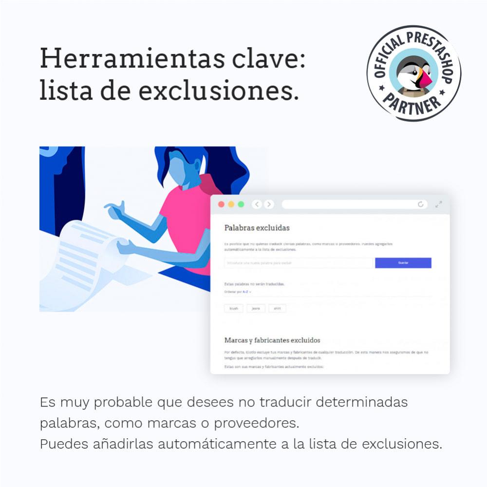 module - Internacionalización y Localización - Glotio - Traduce tu PrestaShop a más de 50 idiomas - 9