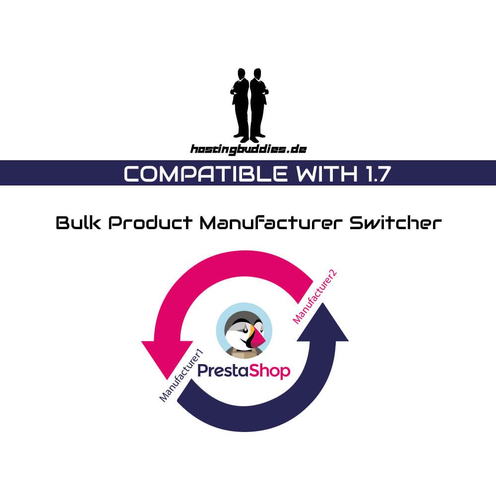 module - Marki & Producenci - Bulk Product Manufacturer Switcher - 1