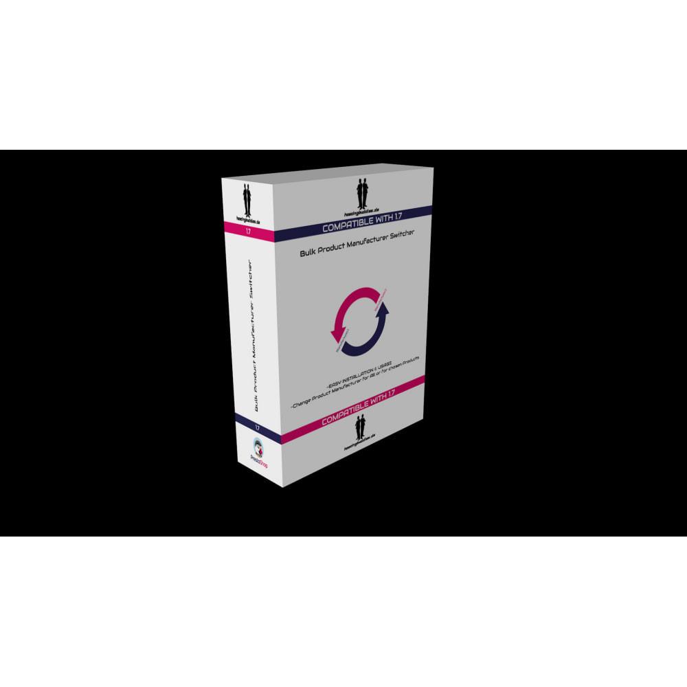 module - Marki & Producenci - Bulk Product Manufacturer Switcher - 2