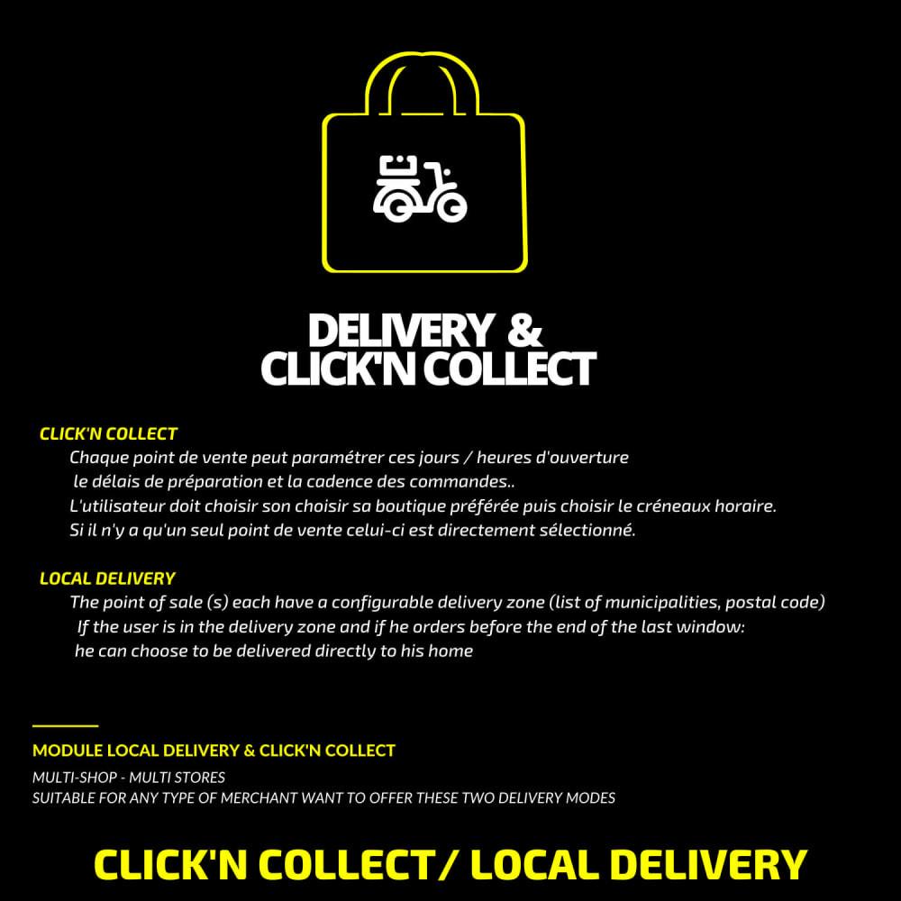 module - Punto de entrega y Recogida en tienda - Click'n collect & local delivery - 1