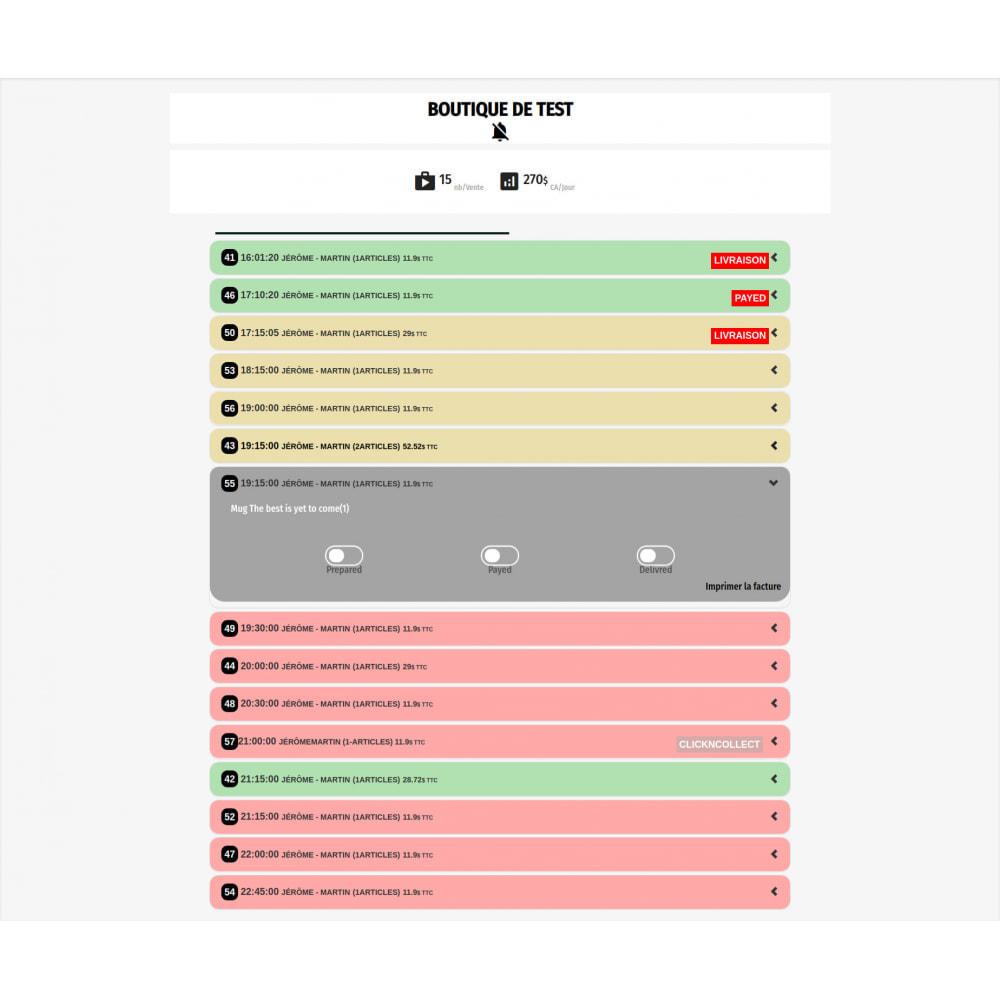 module - Point Relais & Retrait en Magasin - Click'ncollect & livraison locale - 2