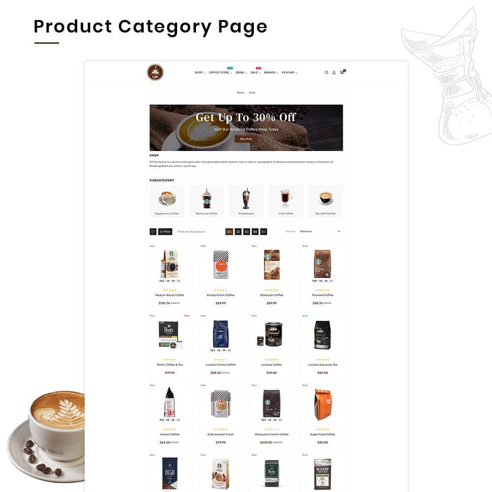 theme - PrestaShop Templates - Coffee VIP Mega Coffee–Tea Nature–Beans Minimal Store - 3