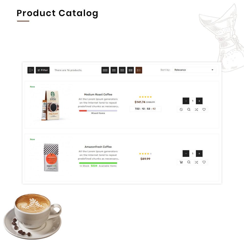 theme - PrestaShop Templates - Coffee VIP Mega Coffee–Tea Nature–Beans Minimal Store - 6