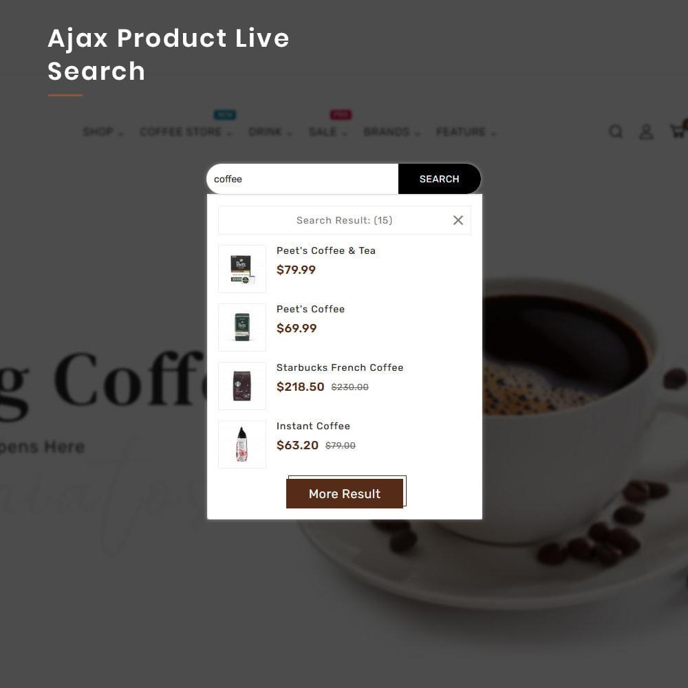 theme - PrestaShop Templates - Coffee VIP Mega Coffee–Tea Nature–Beans Minimal Store - 7