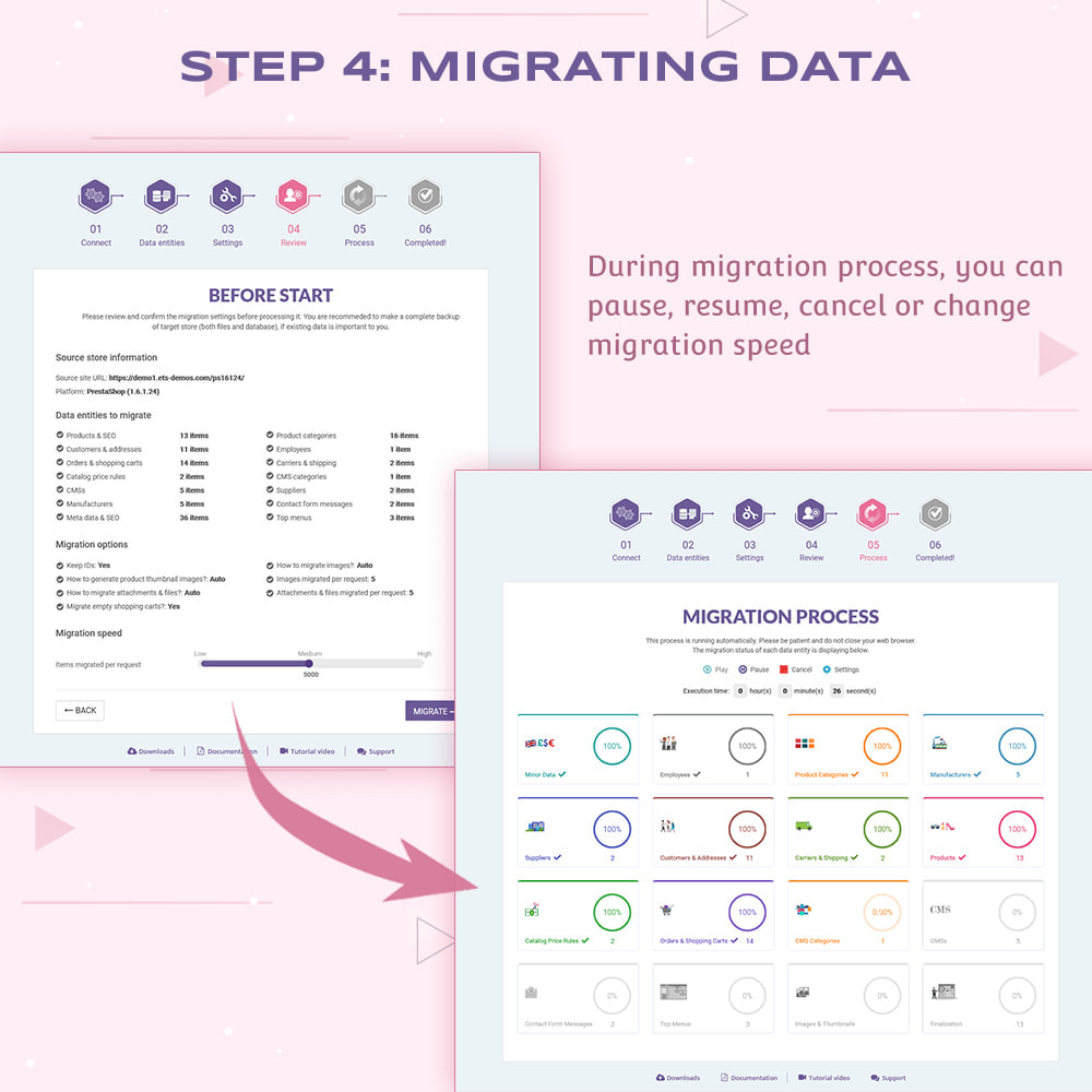 module - Migração de Dados & Registro - PrestaShop Migrator – upgrade PrestaShop to 1.7 - 11