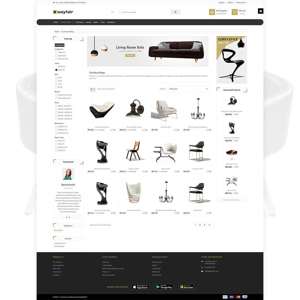 theme - Heim & Garten - Wayfair Furniture  - Furniture Shop - 3