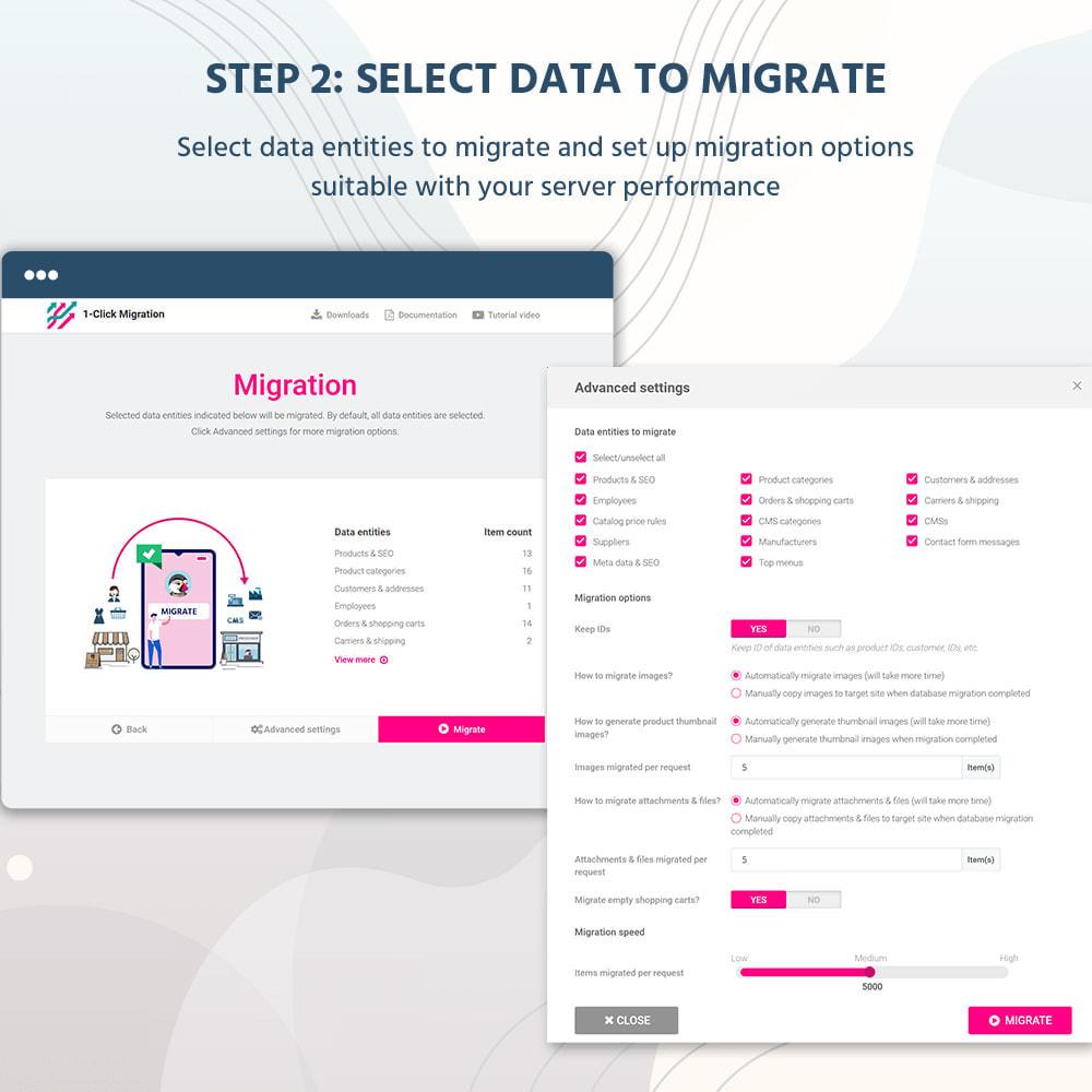 module - Миграции и сохранения данных - 1 CLICK to Migrate or Upgrade - 9