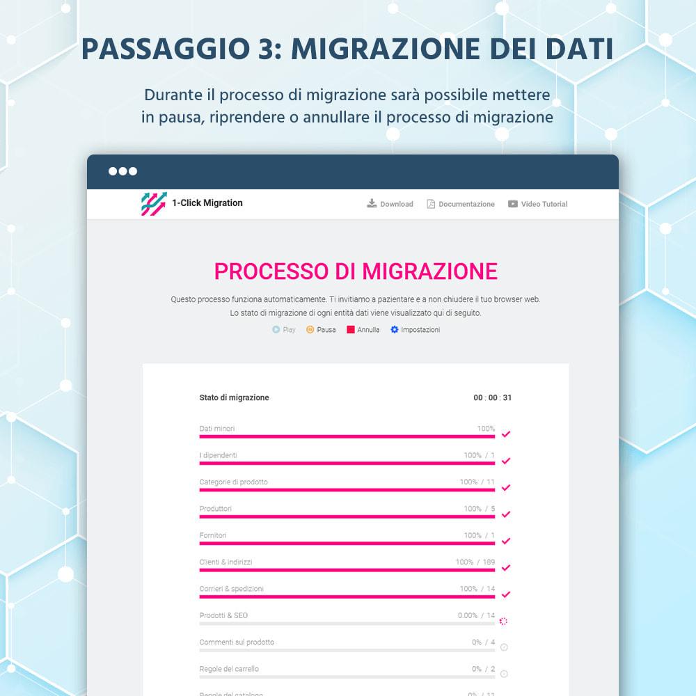 module - Data Migration & Backup - 1 CLICCA per Migrare o Aggiornare - 10