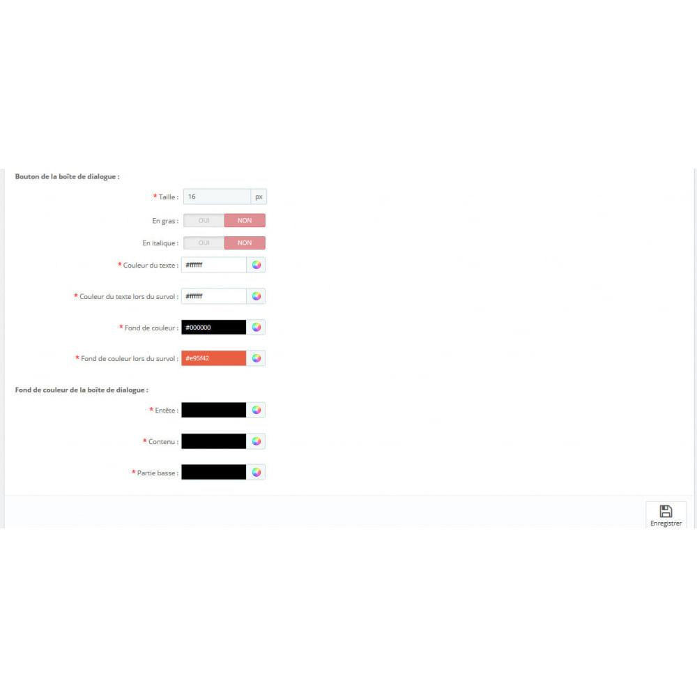 module - Personnalisation de Page - Ajout d'infos. aux caractéristiques de vos produits - 10