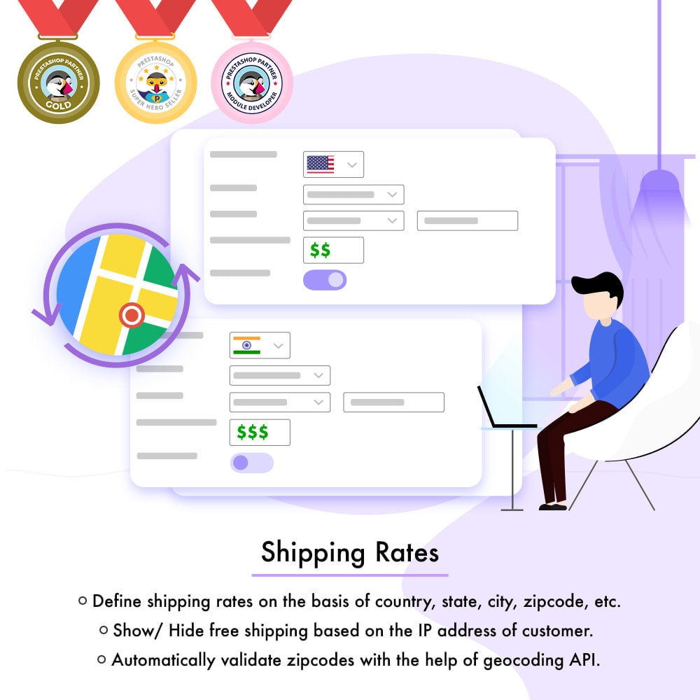 module - Shipping Carriers - Shipping Rates - 1