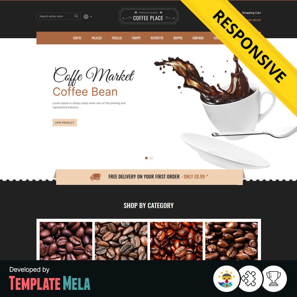 theme - Eten & Restaurant - Coffee Place - Coffee & Cake Shop - 1