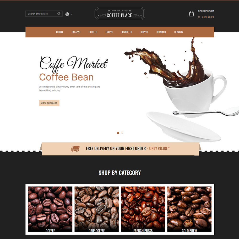 theme - Eten & Restaurant - Coffee Place - Coffee & Cake Shop - 2