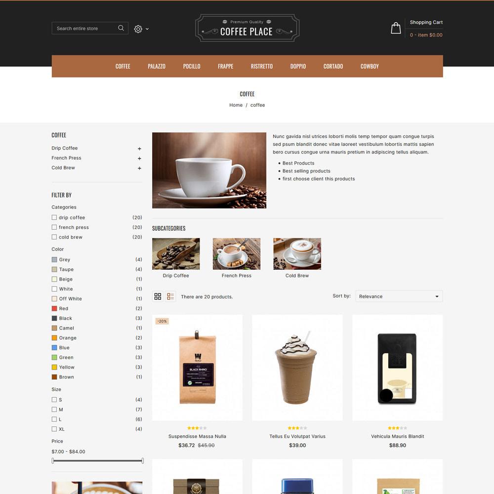 theme - Eten & Restaurant - Coffee Place - Coffee & Cake Shop - 3