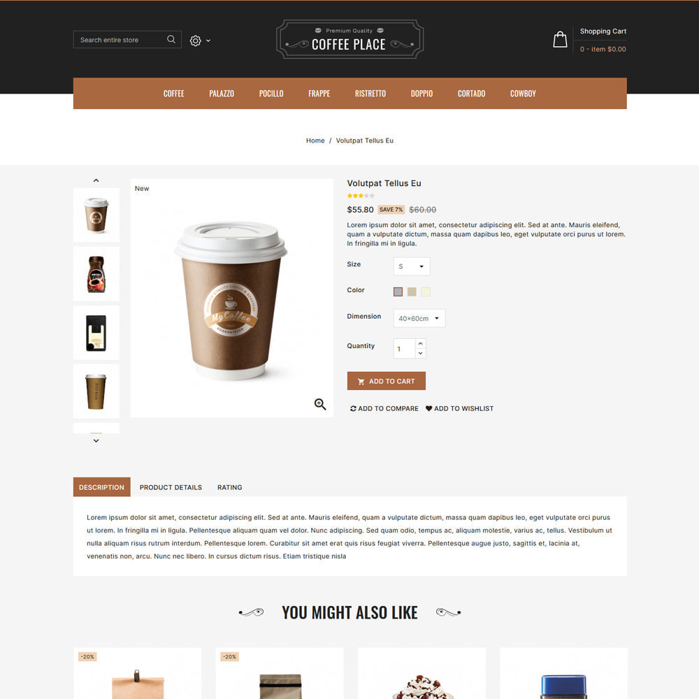 theme - Eten & Restaurant - Coffee Place - Coffee & Cake Shop - 4
