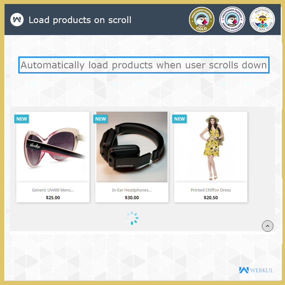 module - Navigation Tools - Infinite Scroll | Load More Products | Lazy Load - 4