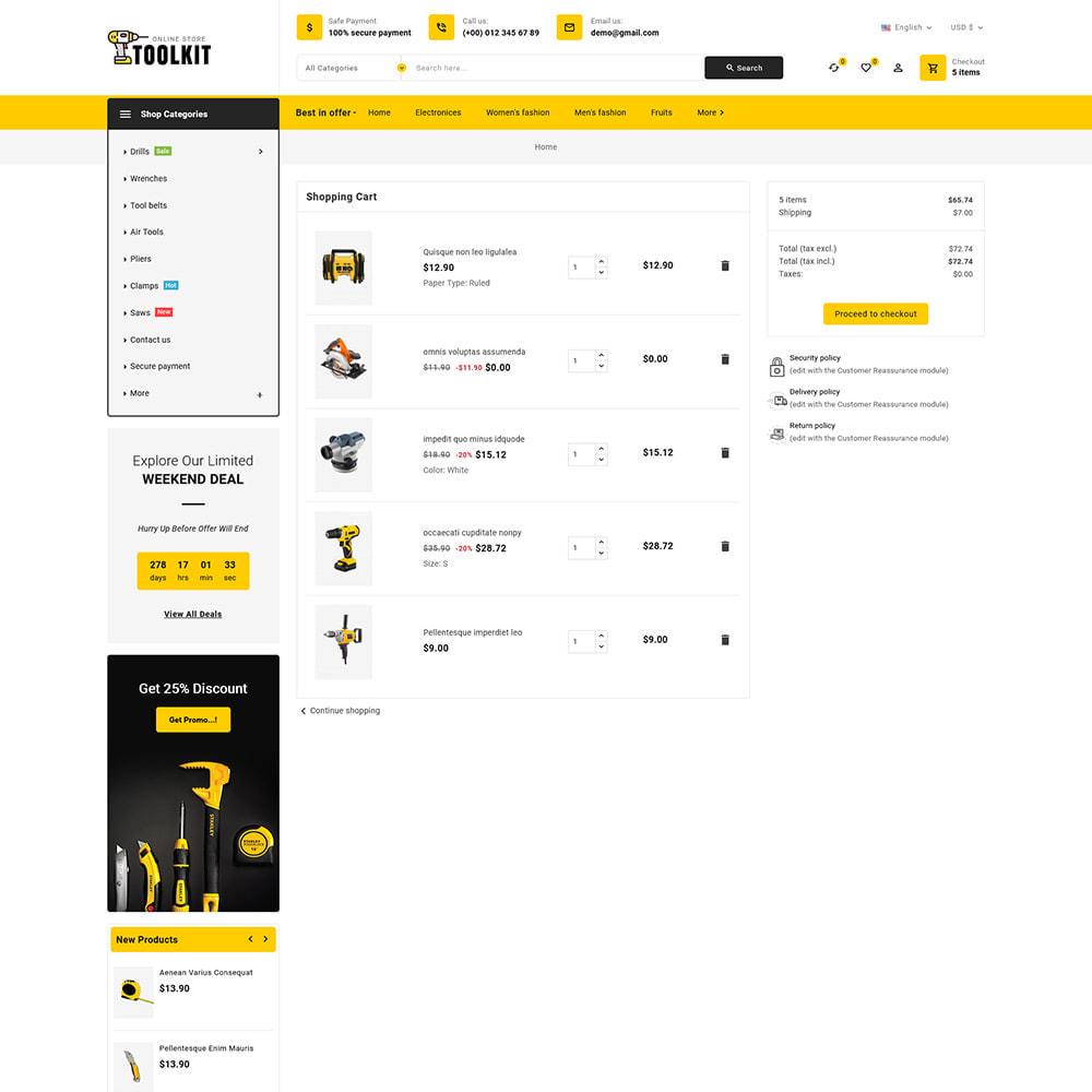 theme - Elettronica & High Tech - Toolkit - Mega Tools Store - 11