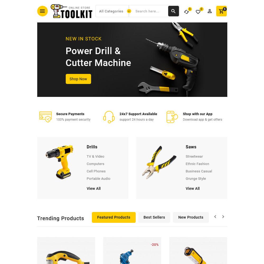 theme - Elettronica & High Tech - Toolkit - Mega Tools Store - 12