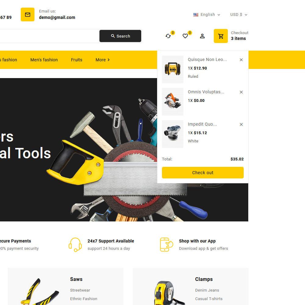 theme - Elettronica & High Tech - Toolkit - Mega Tools Store - 13