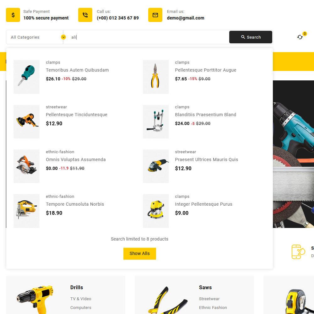 theme - Elettronica & High Tech - Toolkit - Mega Tools Store - 14