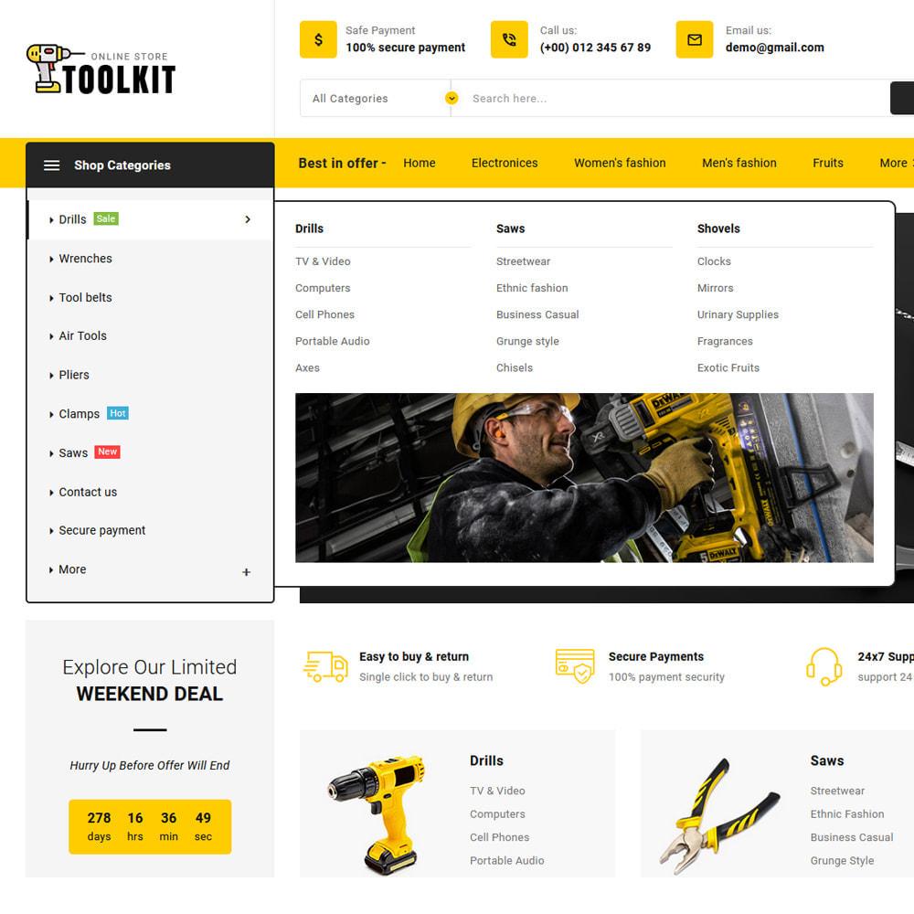 theme - Elettronica & High Tech - Toolkit - Mega Tools Store - 15