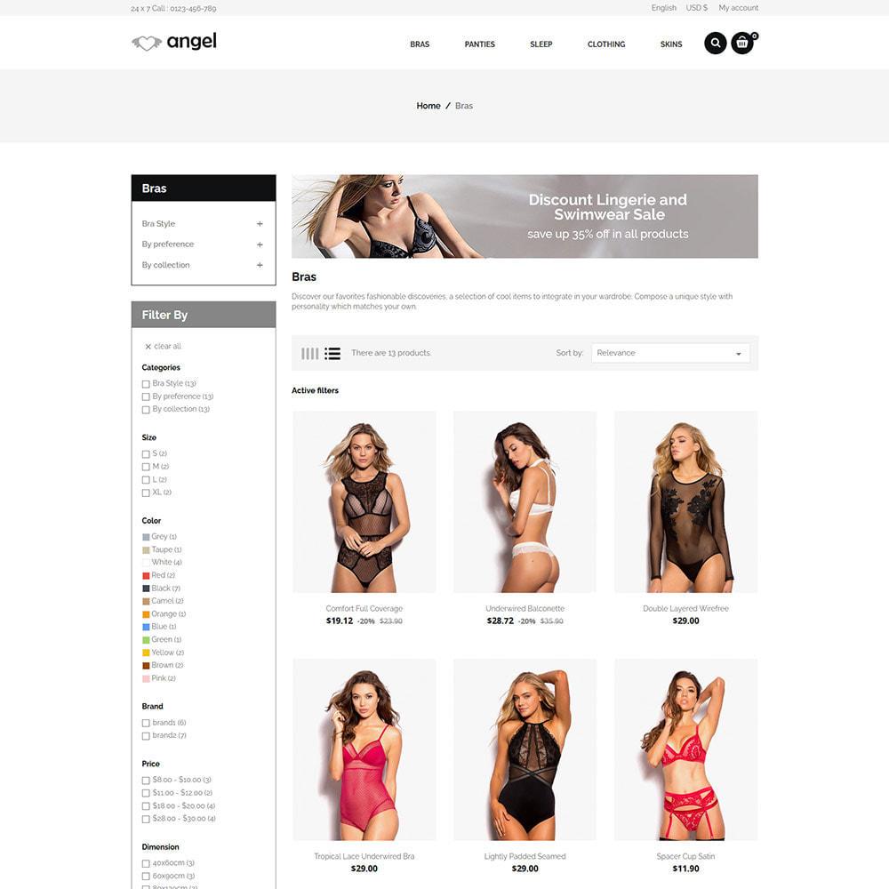 theme - Lingerie & Adulte - Lingerie  - Magasin d'attractions sexuelles en bikini - 6