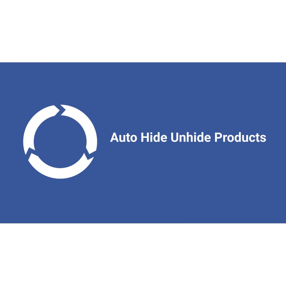 module - Stock & Supplier Management - Auto Hide Unhide Products - Stock Change - 4