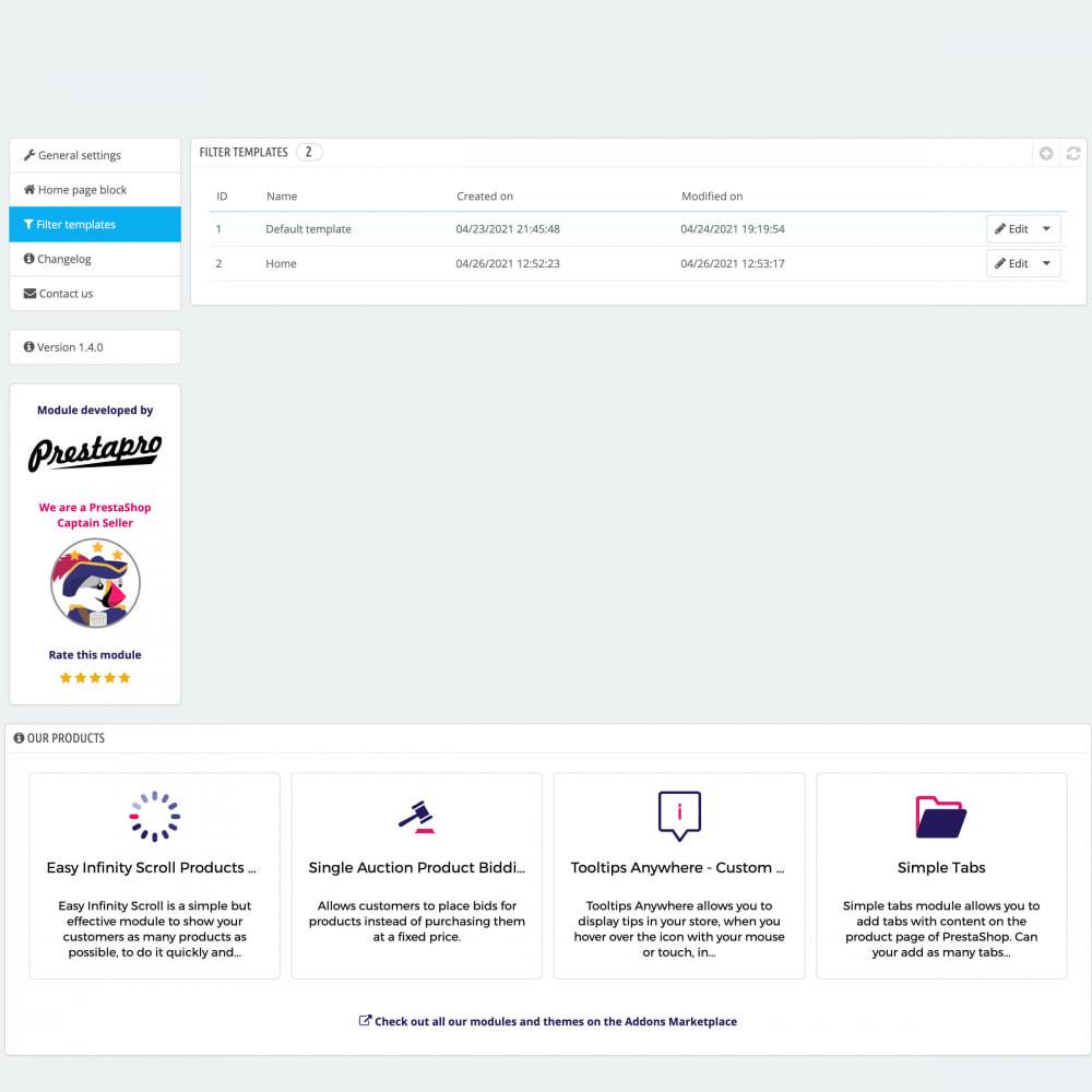 module - Suche & Filter - Erweiterter Suchfilter Pro - 9