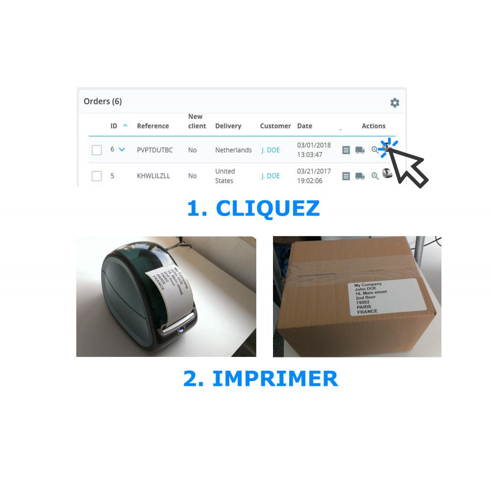 module - Préparation & Expédition - Étiquettes d'adresse/de commande - Direct Label Print - 1