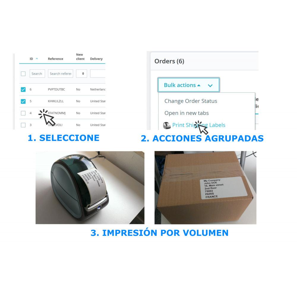 module - Preparación y Envíos - Etiquetas de dirección / pedido - DirectLabelPrint - 2