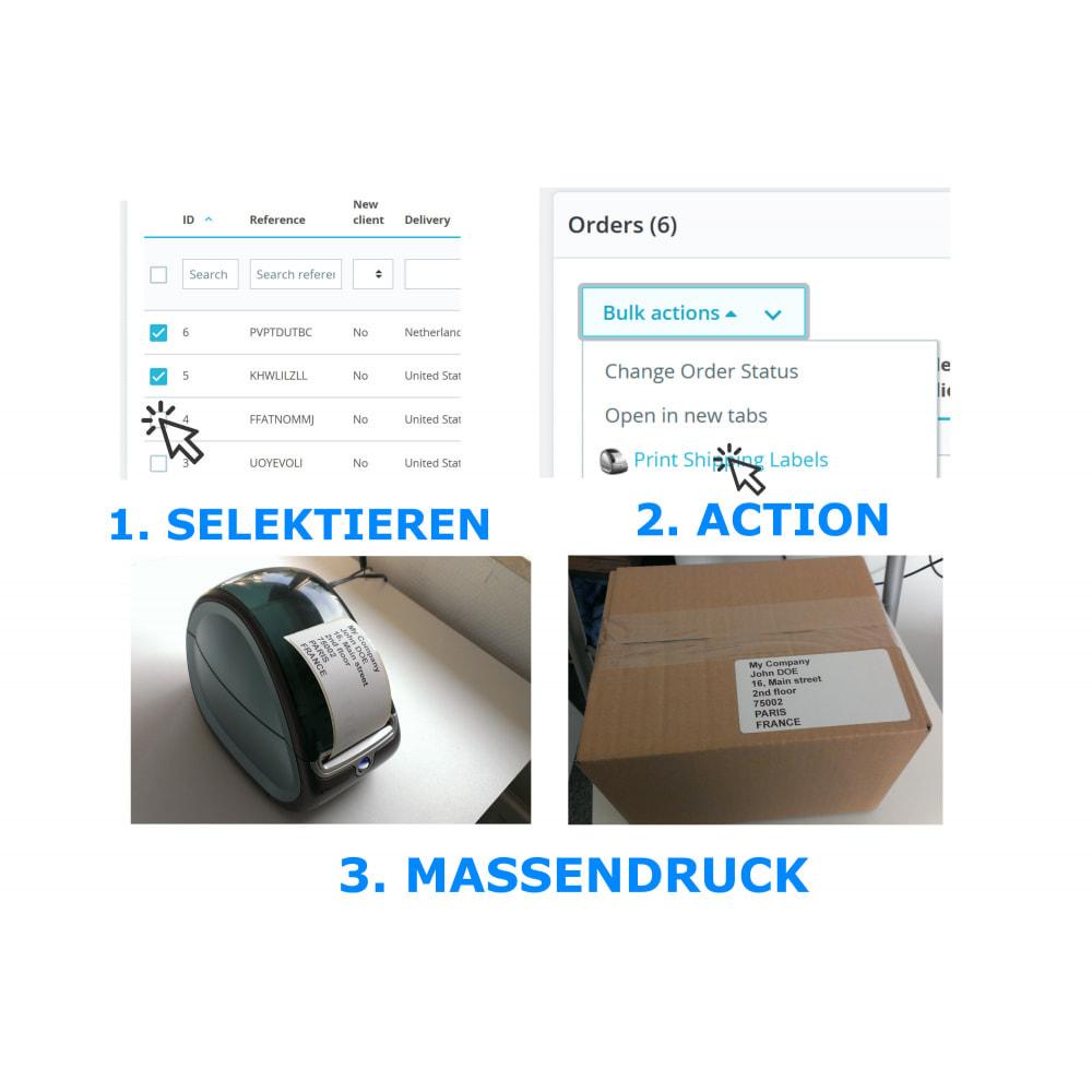 module - Kommissionierung & Versand - Adress- / Bestelletiketten - Direct Label Print - 2
