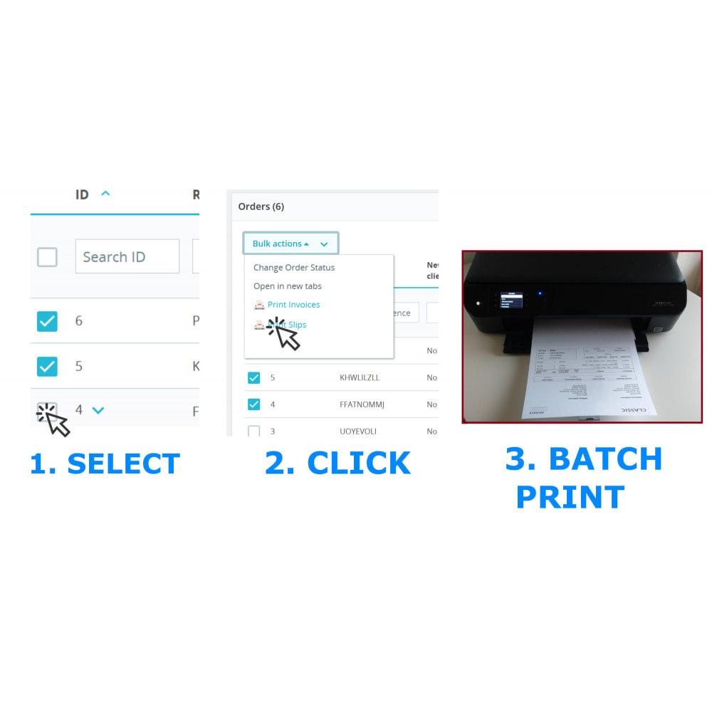 module - Contabilidade & Cobrança - Easy & Mass Printing - Invoice & Slips - DirectPDFPrint - 2