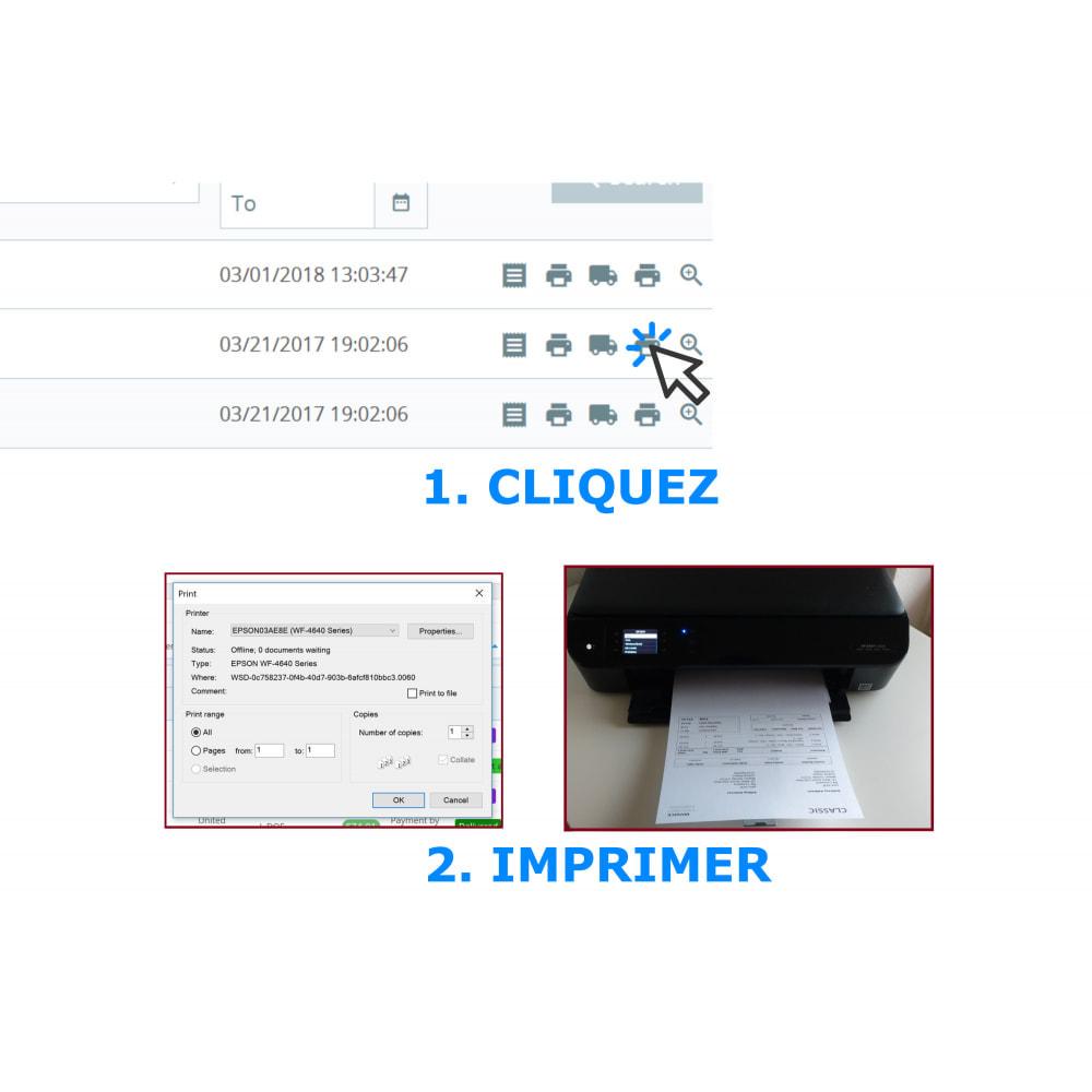 module - Comptabilité & Facturation - Impression masse & rapide – facture & bordereaux - DPP - 1