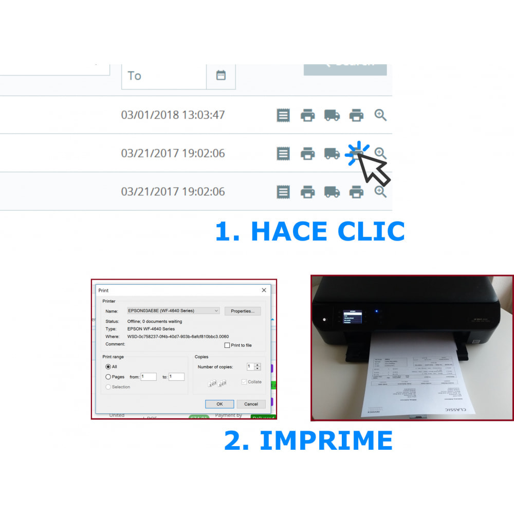 module - Contabilidad y Facturas - Impresión fácil y en volumen: Facturas y albaranes--DPP - 1
