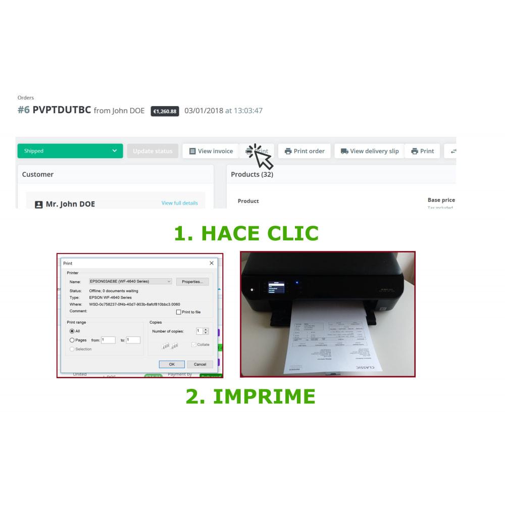 module - Contabilidad y Facturas - Impresión fácil y en volumen: Facturas y albaranes--DPP - 4