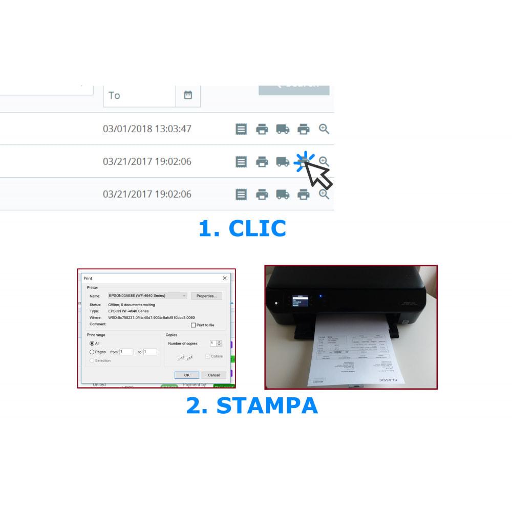 module - Contabilità & Fatturazione - Stampa Facile e all'Ingrosso – Direct PDF Print - 1