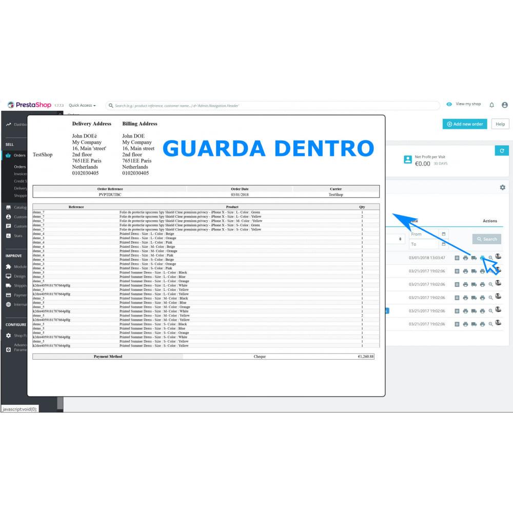 module - Contabilità & Fatturazione - Stampa Facile e all'Ingrosso – Direct PDF Print - 3